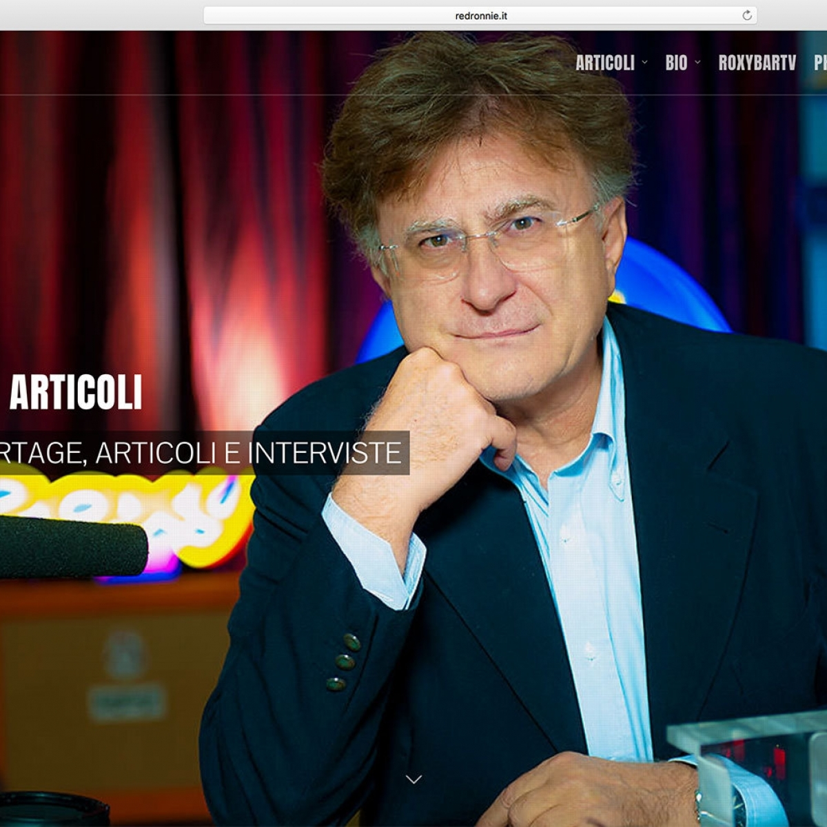 GIORNALISTA MUSICALE: RED RONNIE